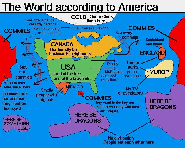 World According to America