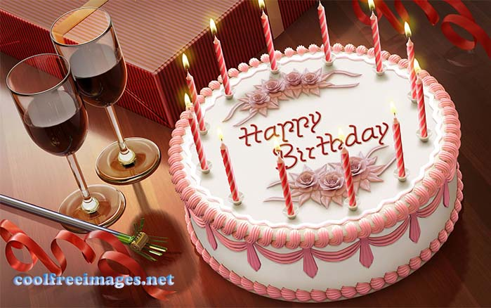 Free Fcebook Orkut and My Space Happy Birthday Graphics Glitters
