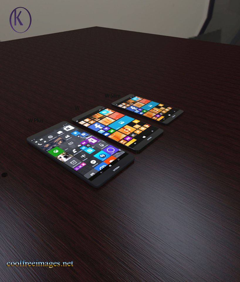 Sony Xperia W1 - Concept Phone Pictures