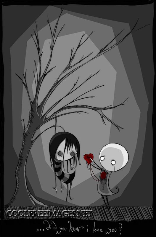 Best Dark & Gothic Valentine's Day Pictures