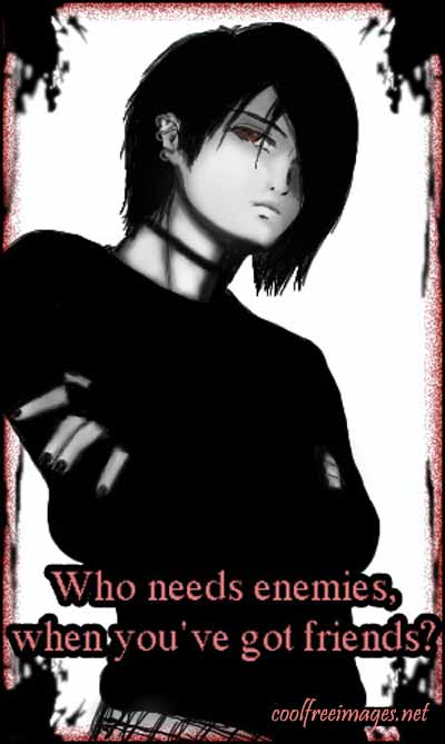 Emo - Who Need Enemies When You Have Got Friends?