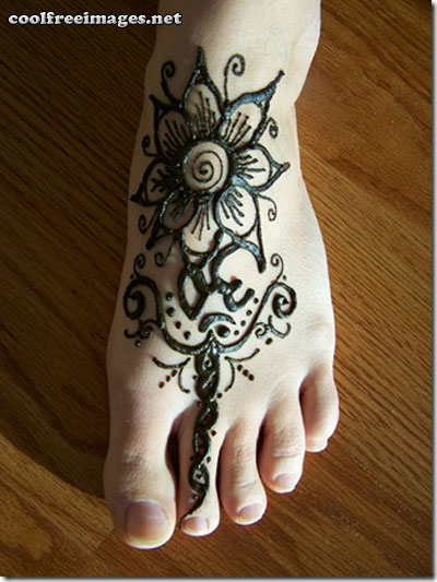 Best Free Feet Mehndi Design Graphics