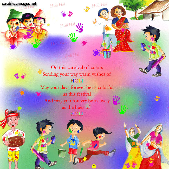 Online Free Happy Holi Pictures