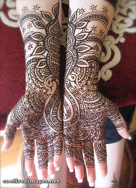 Online Free Mehndi Design Pictures