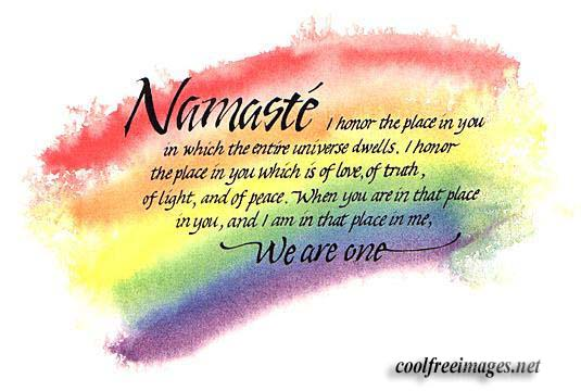 Orkut Myspace Namaste Comments & Graphics