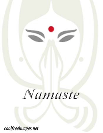 Free Orkut and My Space Namaste Graphics Glitters 