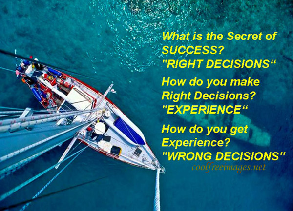 What Is The Secret Of Success? Right Direction